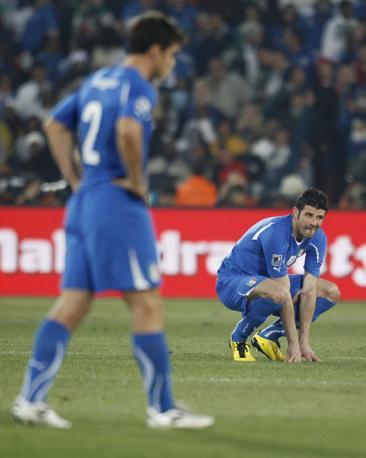 Iaquinta in ginocchio (Reuters)
