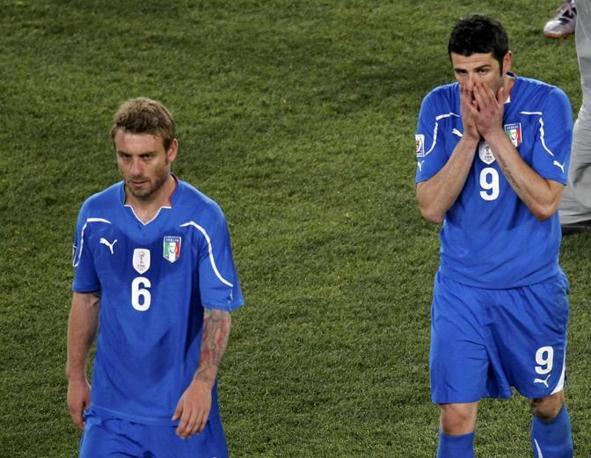 De Rossi e Iaquinta (Reuters)