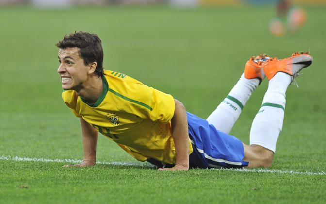 Brasile-Portogallo: Nilmar a terra (Epa)