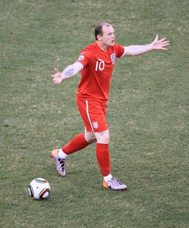 Germania-Inghilterra. Wayne Rooney (Action Images )