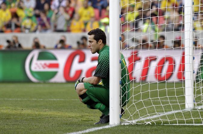 Olanda-Brasile 2-1: Julio Cesar (Ap)