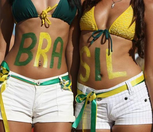 Olanda-Brasile 2-1: tifose brasiliane (Epa)