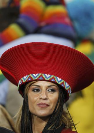Uruguay-Ghana 5-3: tifosa dell'Uruguay (Reuters)