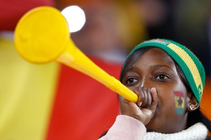 Uruguay-Ghana 5-3: tifosa ghanese (Lapresse)