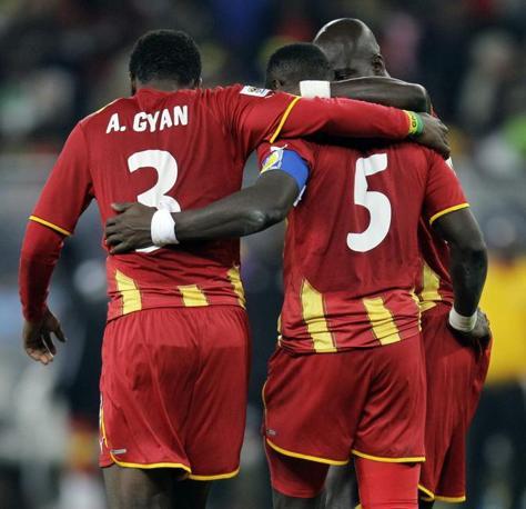 Uruguay-Ghana 5-3: la delusione degli africani (Ap)