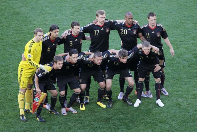 Argentina-Germania: la nazionale tedesca... (LaPresse)