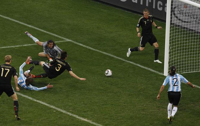 Friedrich sigla il 3-0 (Ap)