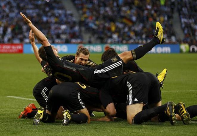 Il trionfo della Germania (Reuters)