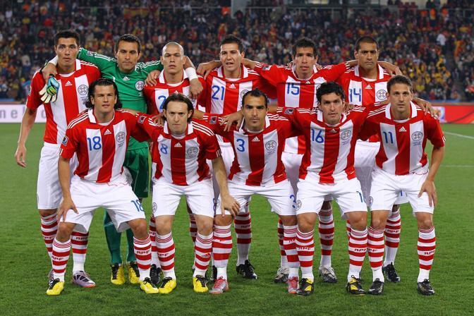 Spagna-Paraguay: la formazione sudamericana (Lapresse)