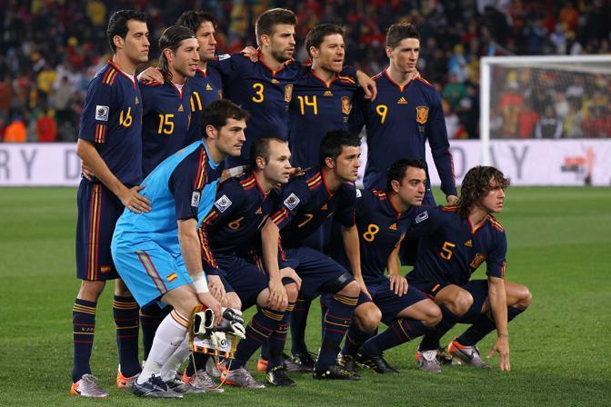 La formazione spagnola (Lapresse)