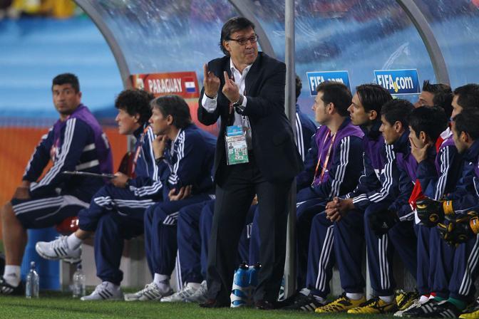 L'allenatore del Paraguay Gerardo Martino (Lapresse)