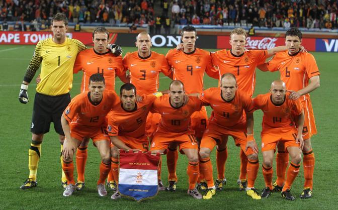 La formazione olandese (Epa)