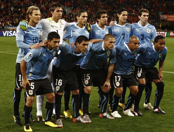 La squadra dell'Uruguay (Ap)
