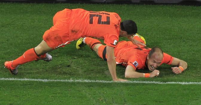 Gli olandesi in festa (Reuters)