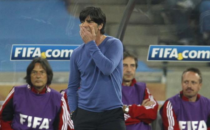 La delusione del tecnico tedesco Joachim Löw  (Reuters)