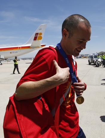 Andres Iniesta, autore del gol vincente (Reuters/Gustau Nacarino)