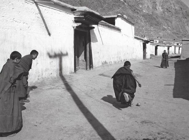 Lamasterio di Xiahe Qinghai, Cina, 1992. Foto: Danilo De Marco