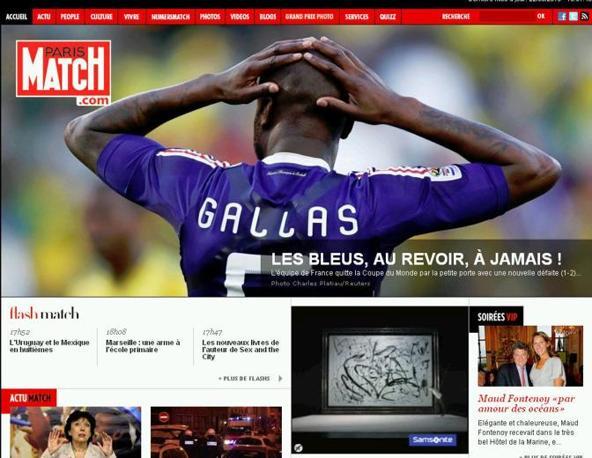 Paris Match dice addio alla nazionale di Domenech