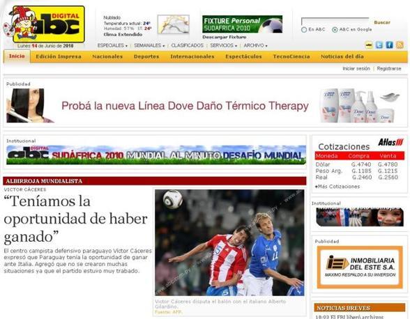 Abc (Paraguay): «Abbiamo avuto l'opportunità di vincere»