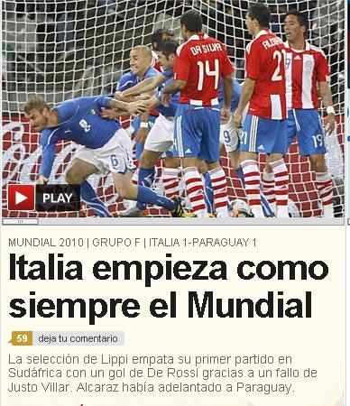 Il quotidiano sportivo spagnolo As