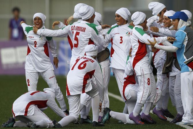 La squadra iraniana (Reuters/Prakash)