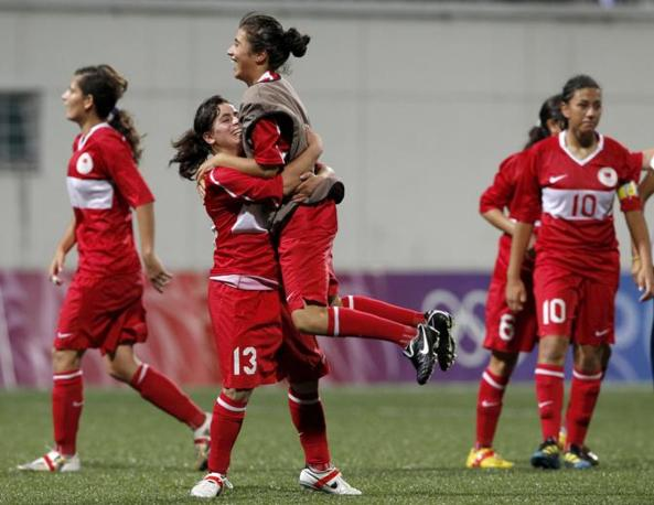 Alla Turchia va quindi la medaglia di bronzo alle Olimpiadi giovanili in corso di svolgimento a Singapore (Reuters/Kato)