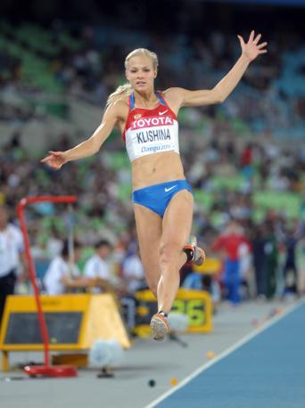La sua misura migliore per� sono i 7,05 metri realizzati lo scorso 17 luglio in una gara nella Rep. Ceca (Kirby Lee/Image of Sport-Us Presswire)