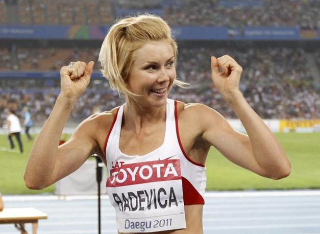 La lettone, 30 anni appena compiuti a luglio, lo scorso anno ha vinto i campionati europei a Barcellona (Reuters/Phil Noble)
