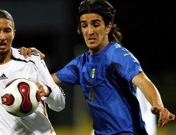 Nel 2007 in una partita sempre con la nazionale  tedesca (Epa)
