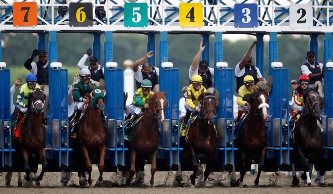 Belmont Stakes 2012. La partenza (Afp) 