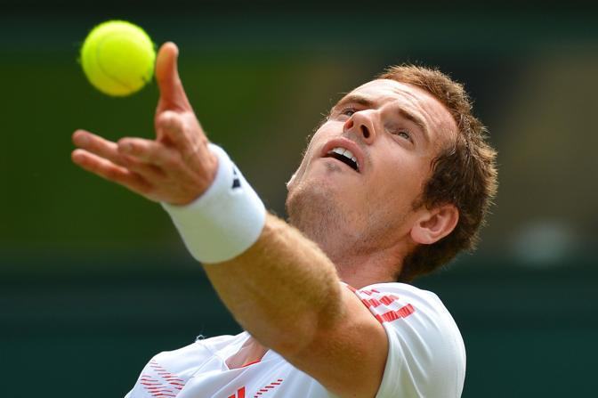 Il britannico Andy Murray (Afp)