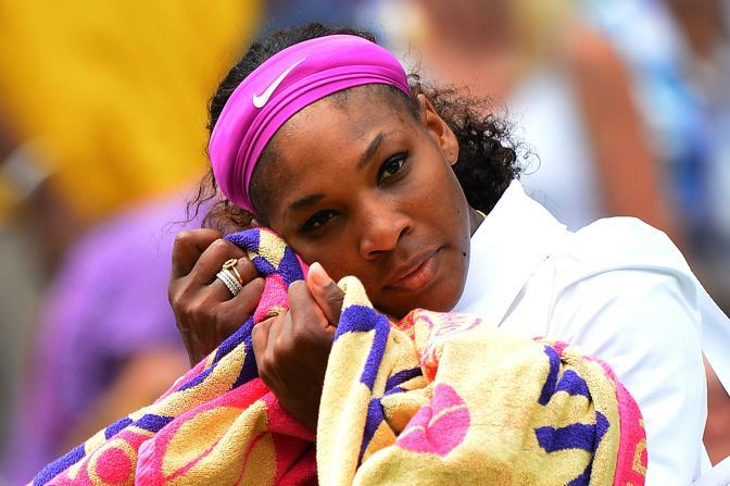 L&#39;americana Serena Williams (Afp)