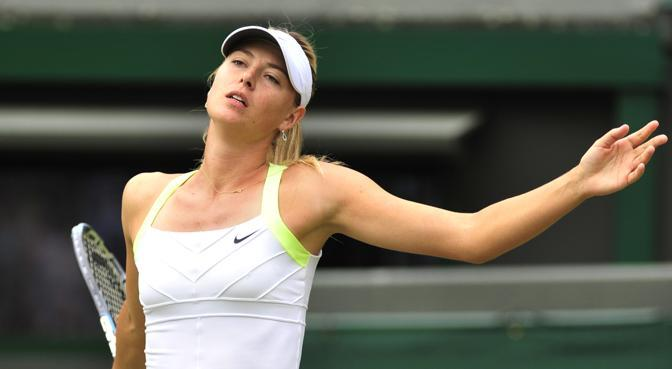 Maria Sharapova, Russia (Afp)