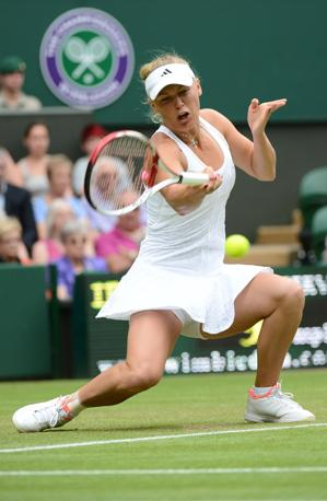 Caroline Wozniacki, Danimarca (Afp) 