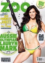Lauryn Ogilvie sulla copertina della rivista australiana «Zoo»