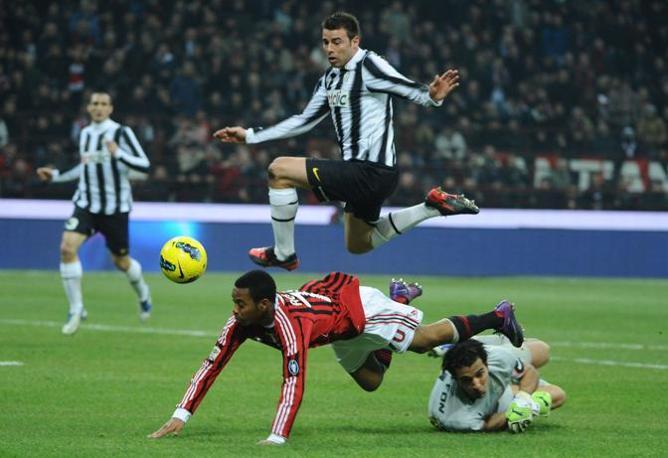Ma anche Gigi Buffon ha fatto il suo nella prima parte, salvando la porta della Juve in almeno due occasioni (Lapresse)