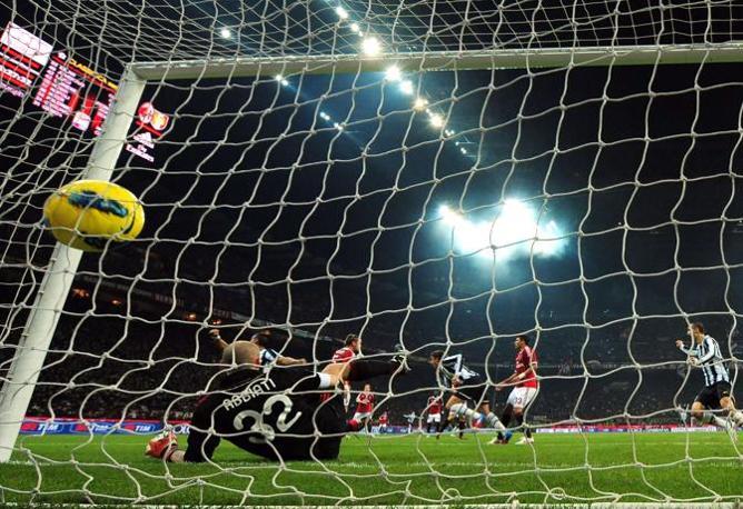 Matri ha appena siglato il gol del pareggio (Afp)