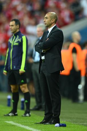 Di Matteo (Chelsea) concentrato sulla sfida (Afp/Dennis)