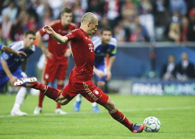 Robben dal dichetto (Reuters/Rattay)