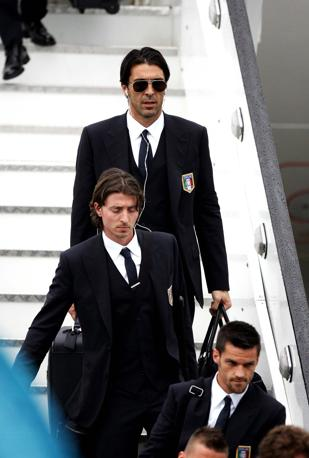 Riccardo Montolivo e Gigi Buffon (Liverani)