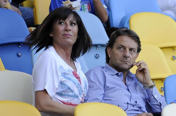 I parenti di Daniele De Rossi (Ansa)