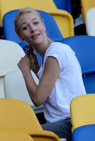 Sarah Felberbaum fidanzata di Daniele De Rossi (Insidefoto)