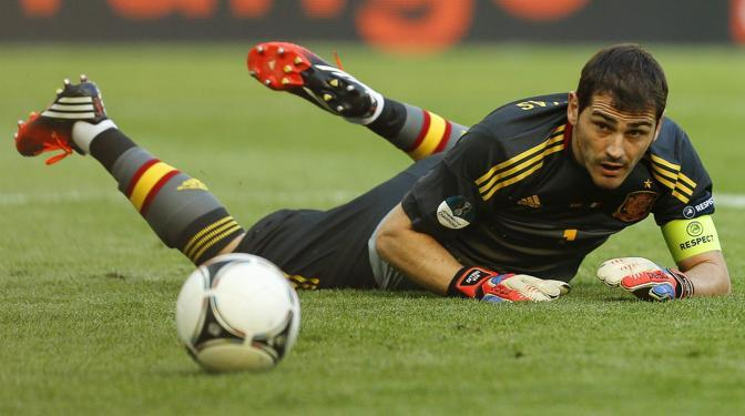 Casillas a terra (Epa/Weiken)