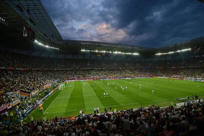 Germania-Portogallo, tutto pronto alla Lviv Arena (Afp/Poujoulat)