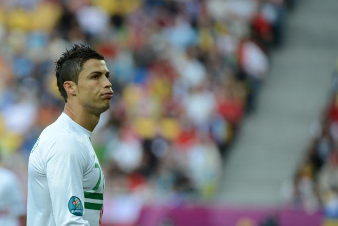 Danimarca-Portogallo 2-3 - Cristiano Ronaldo (Afp/Meyer)
