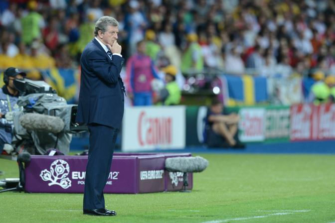 L'allenatore inglese Hodgson (Afp)