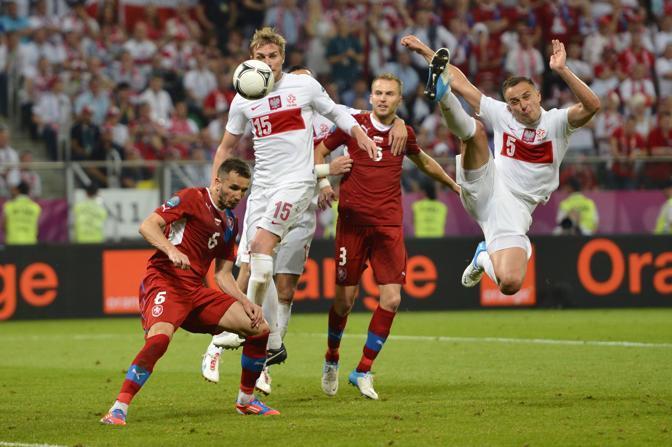 REPUBBLICA CECA-POLONIA 1-0  (Afp/Coffrini)