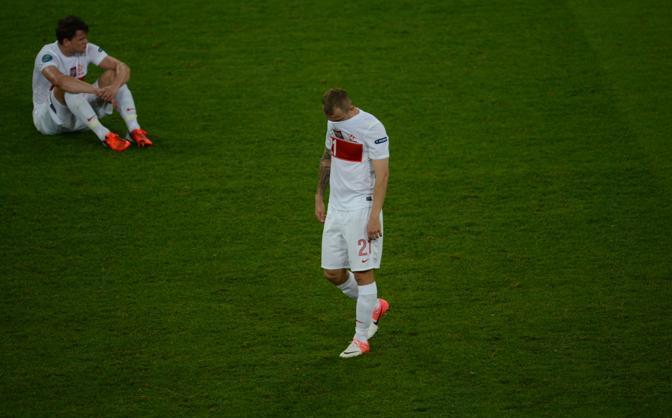 REPUBBLICA CECA-POLONIA 1-0 (Afp/Mihailescu)
