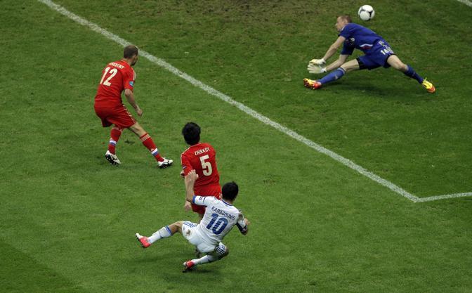 GRECIA-RUSSIA 1-0 (LaPresse)