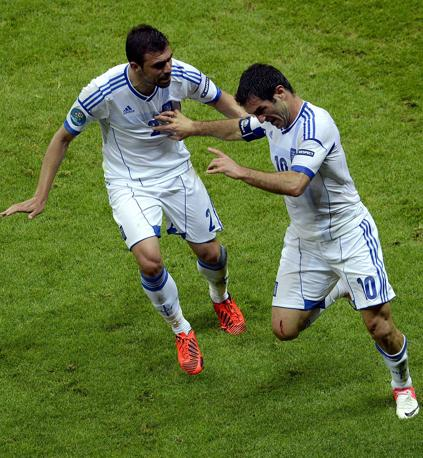 GRECIA-RUSSIA 1-0 (Epa/Pietruszka)